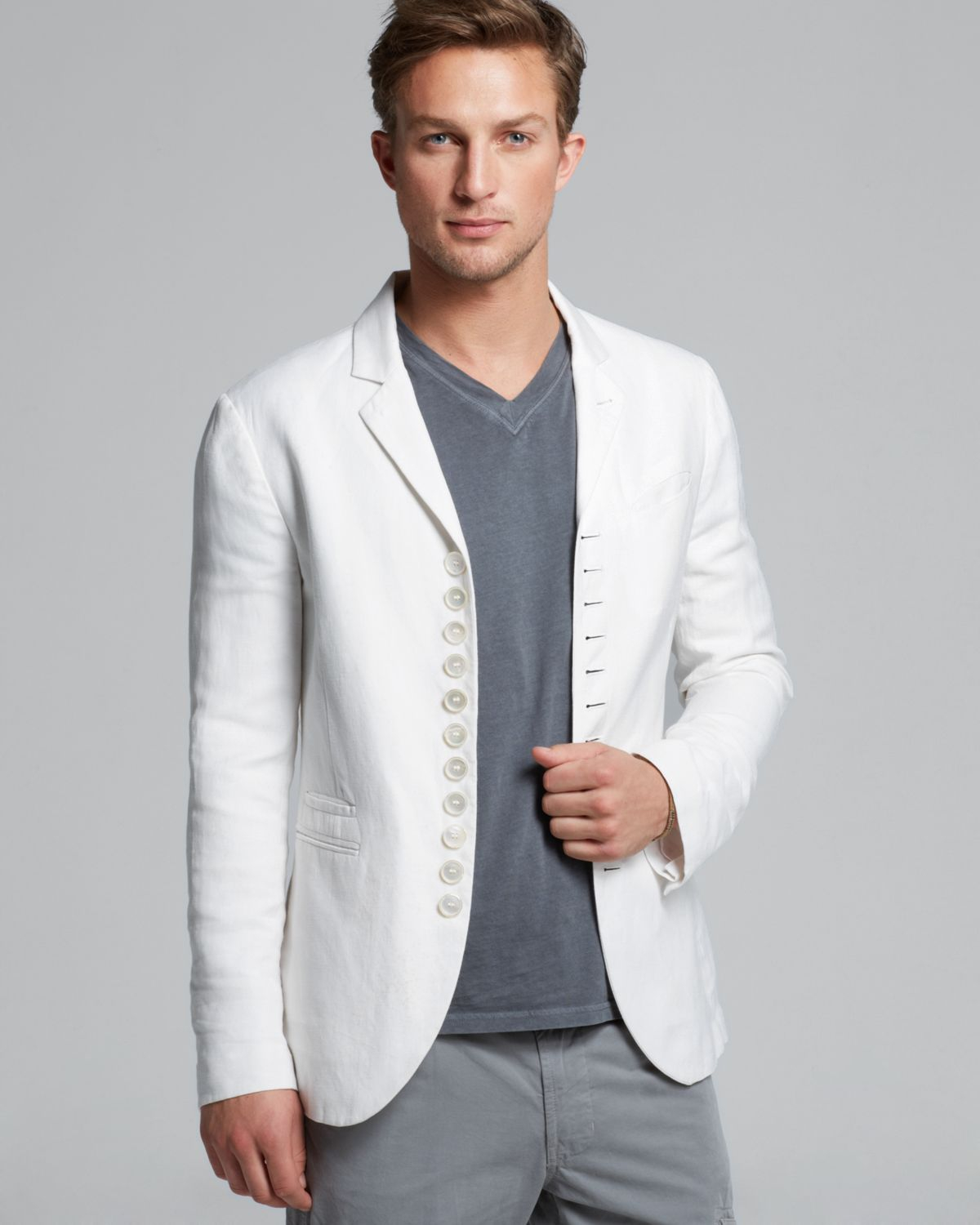 Collection Mens Linen Blazer Pictures - Reikian