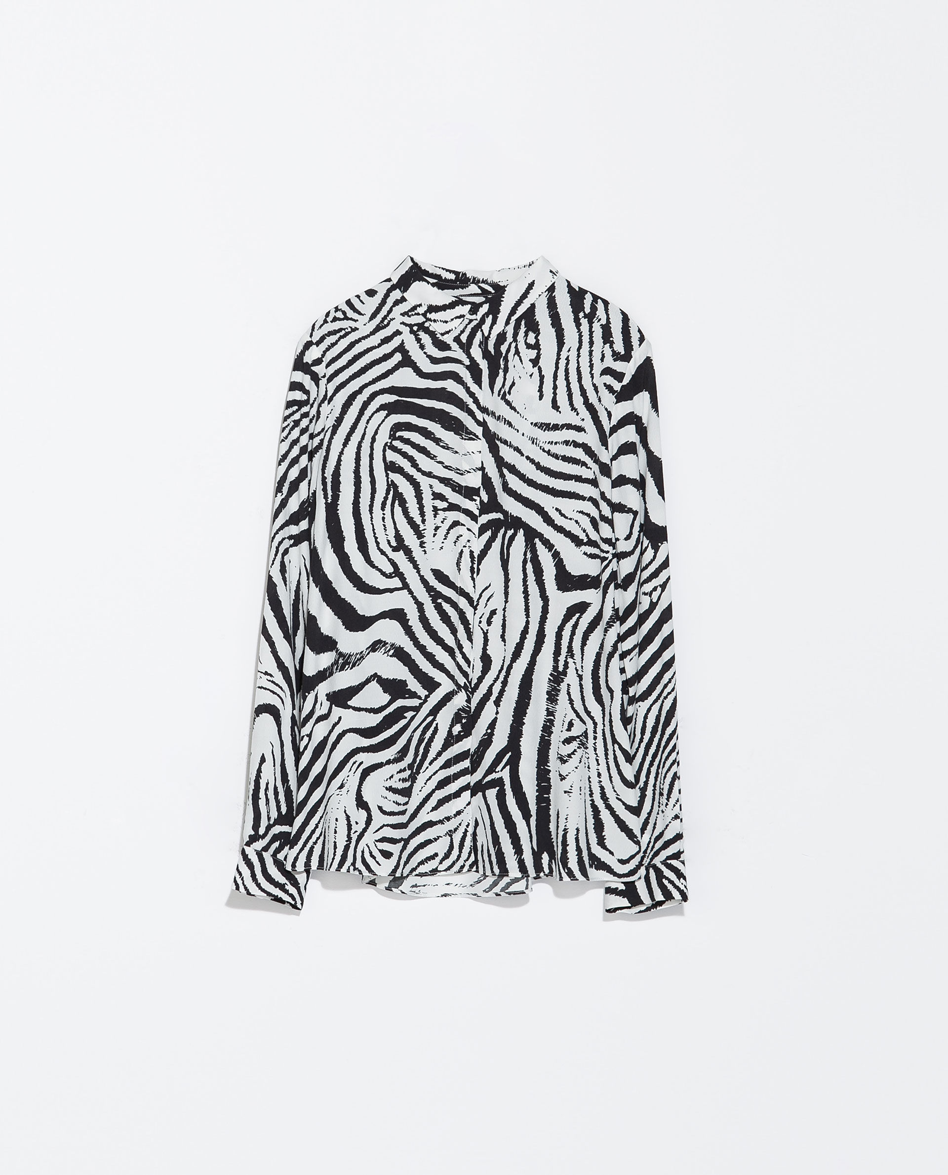 Zara Zebra Print Blouse 15