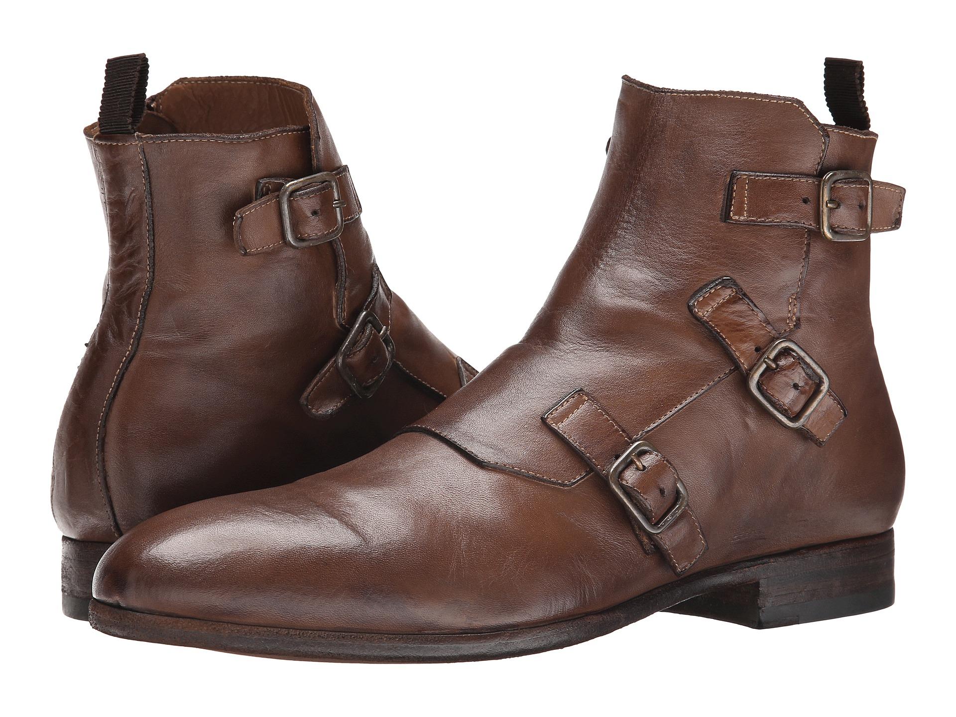 4e1e4d4ac6a6e Alexander McQueen Triple Buckle Monk Boot in Brown for Men - Lyst