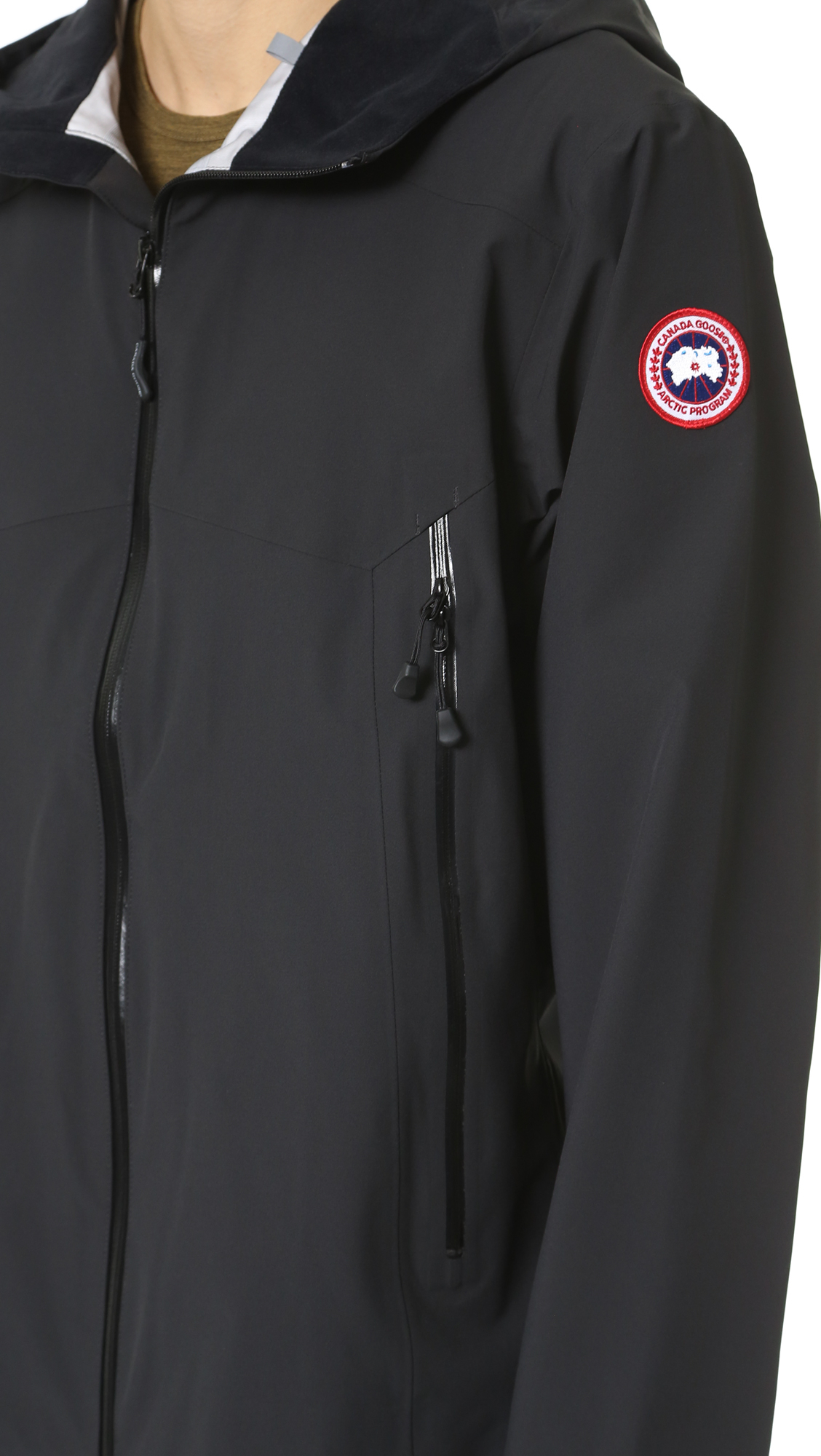 Canada Goose womens online store - Canada goose Canyon Shell Jacket in Black for Men | Lyst