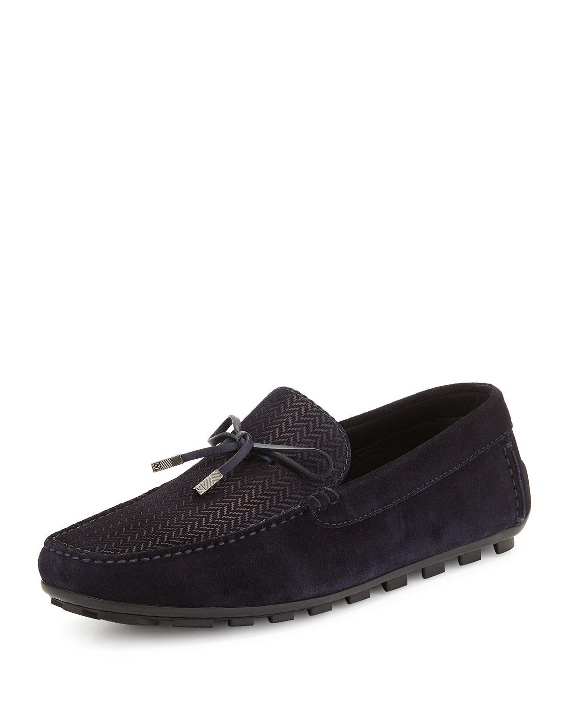 Shoes Blue Suede Zegna