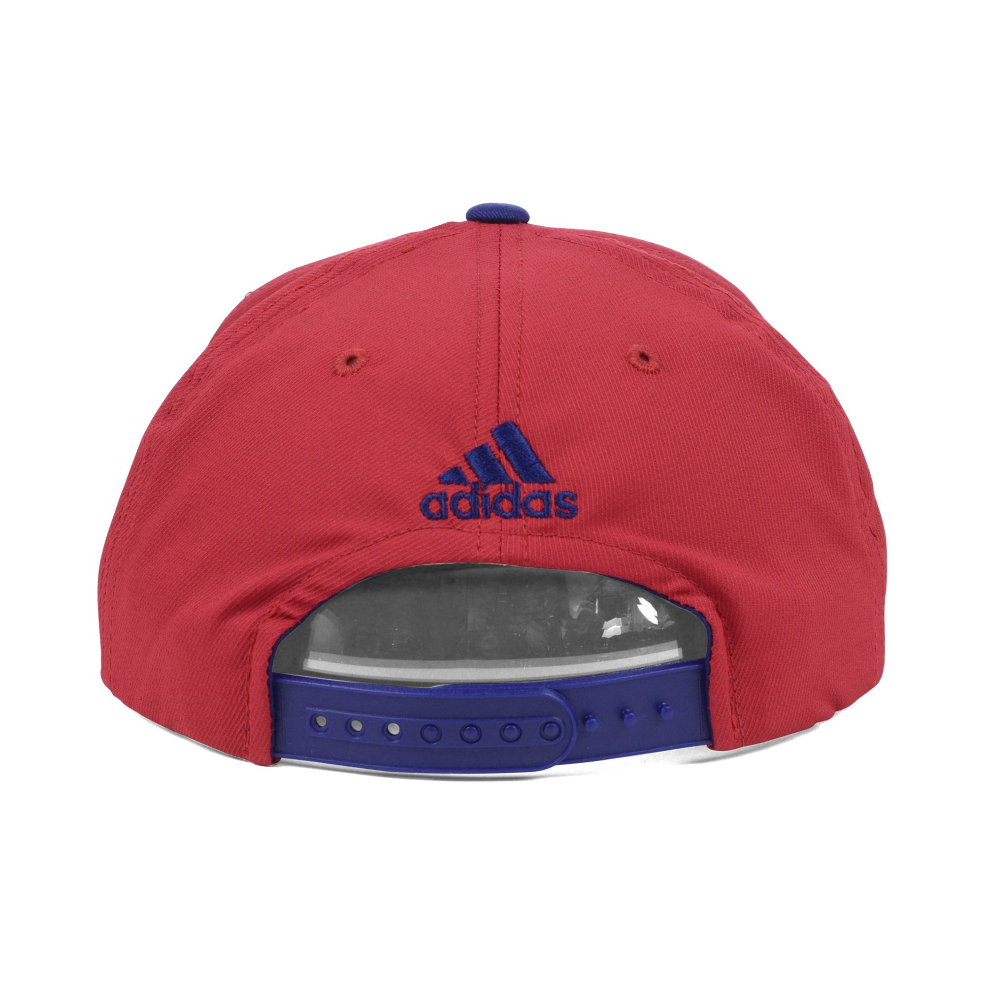 165c82f2a6c Lyst - adidas Real Salt Lake Mls Player Snapback Cap in Red for Men