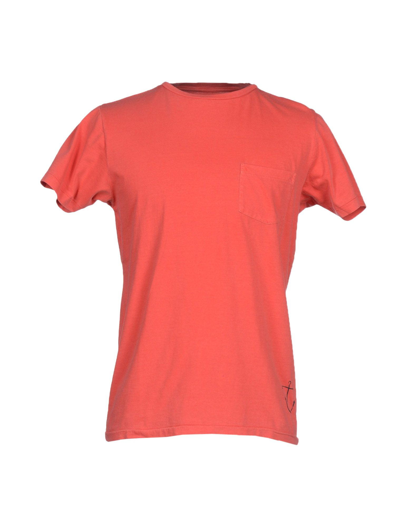 Bowery supply co t shirt in red for men lyst for The red t shirt company