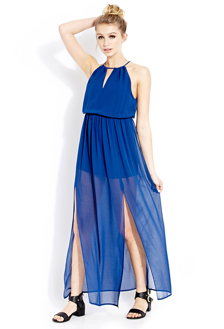 Goddess Moment Maxi Dress