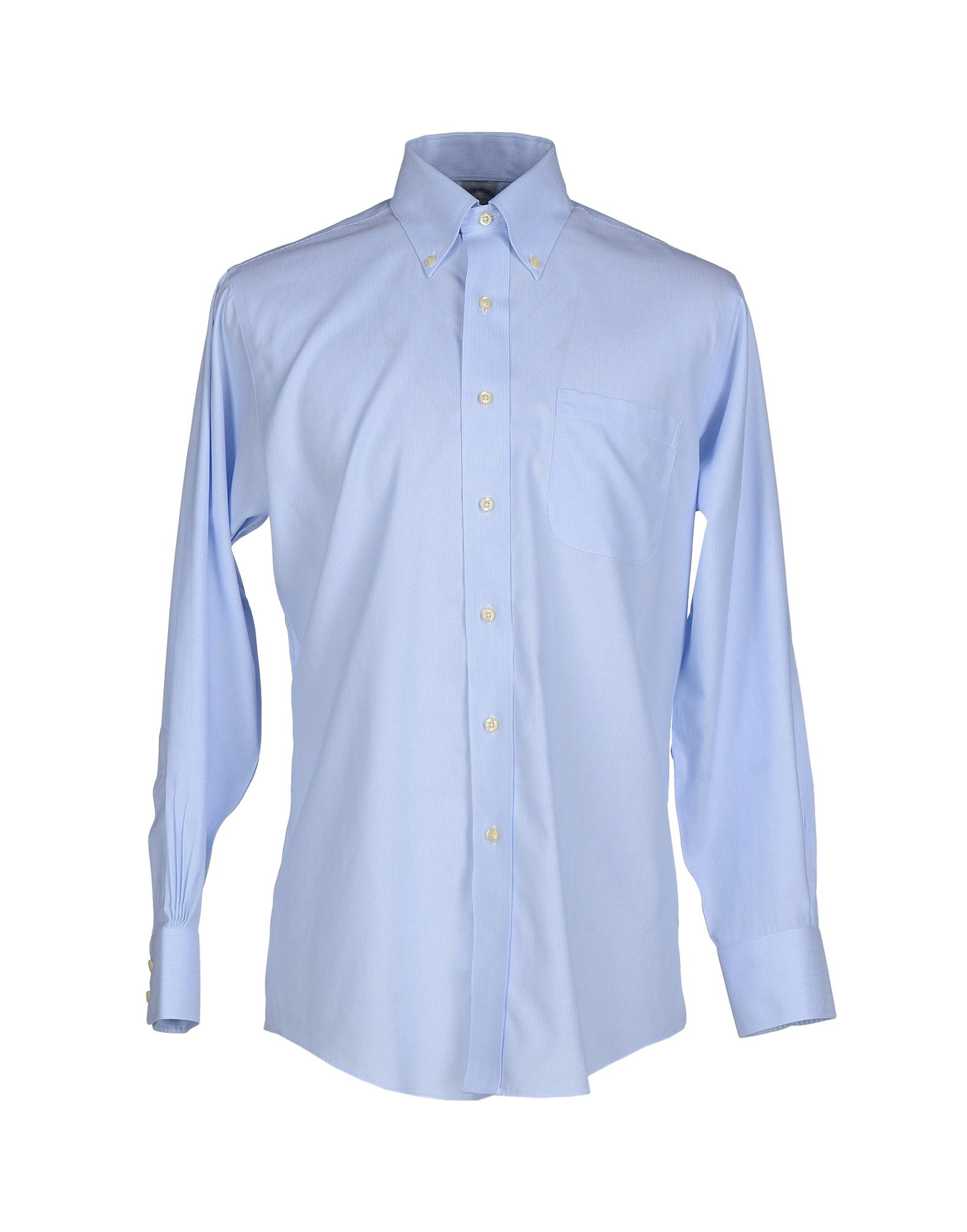 Lyst brooks brothers shirt in blue for men for Brooks brothers boys shirts