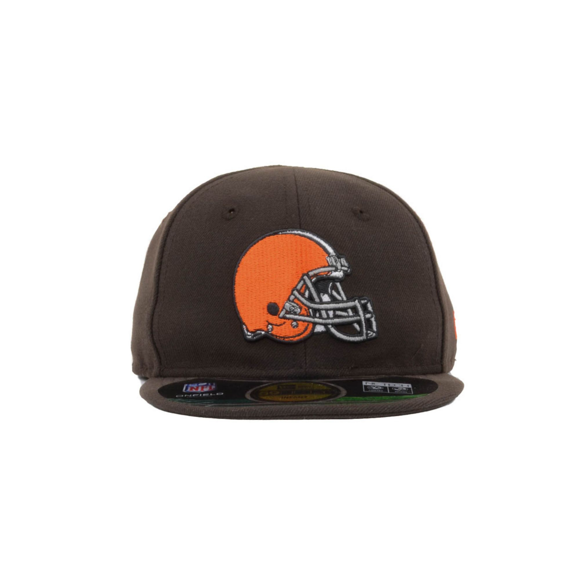 Ktz Baby Cleveland Browns My First On Field 59Fifty Cap in Brown ...