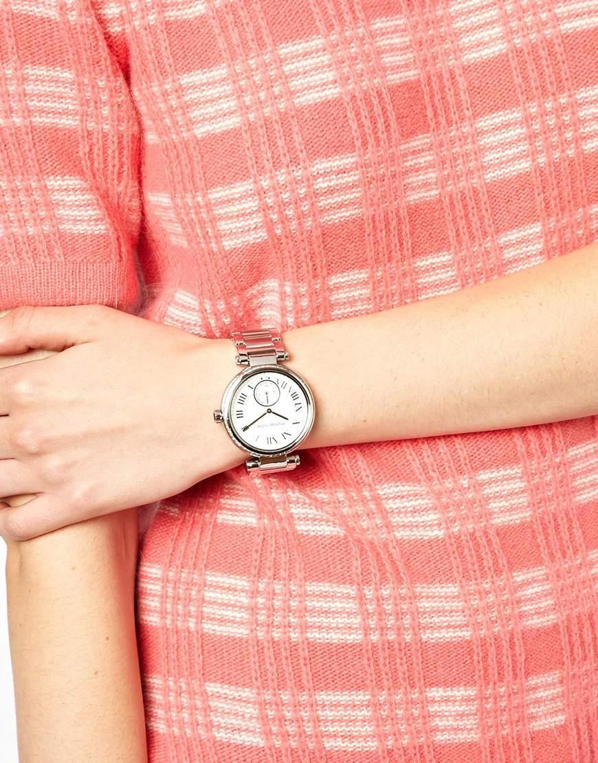 0ad951cca2a7 Lyst - Michael Kors Skylar Silver Watch in Metallic