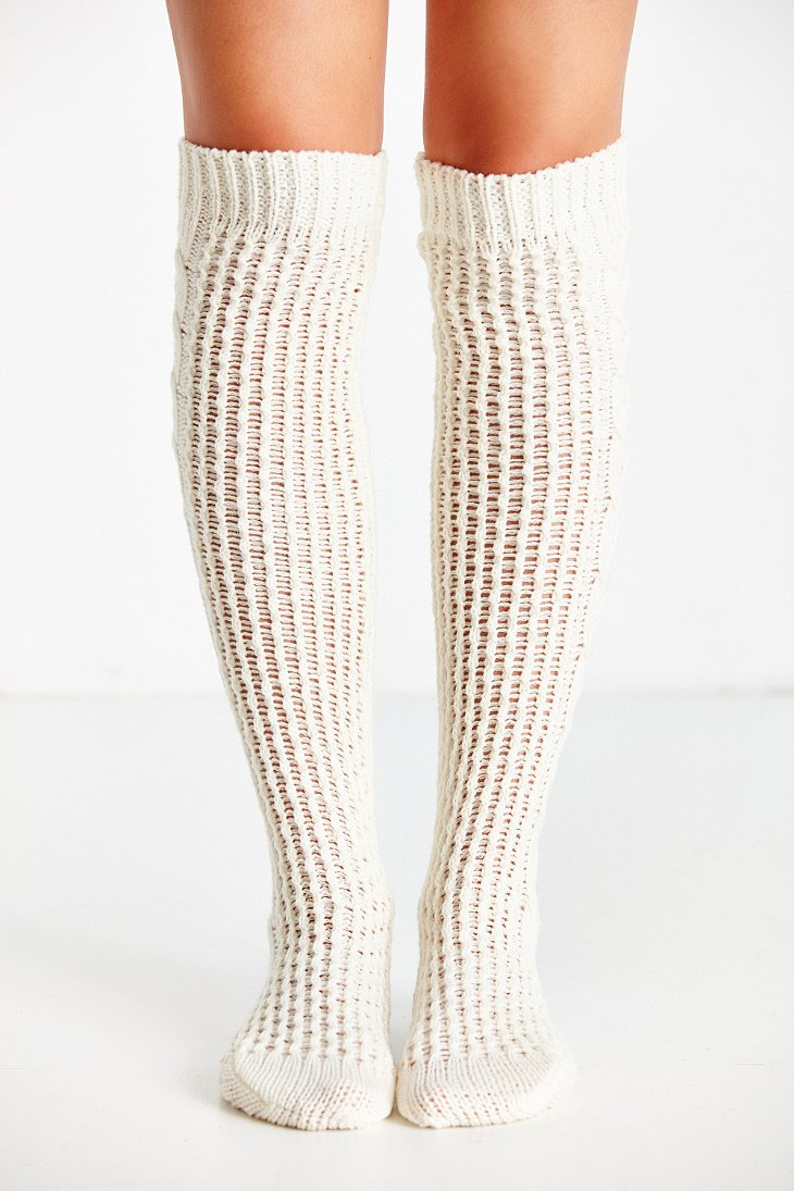 Lyst Urban Outfitters Oversized Cable Chunky Over The