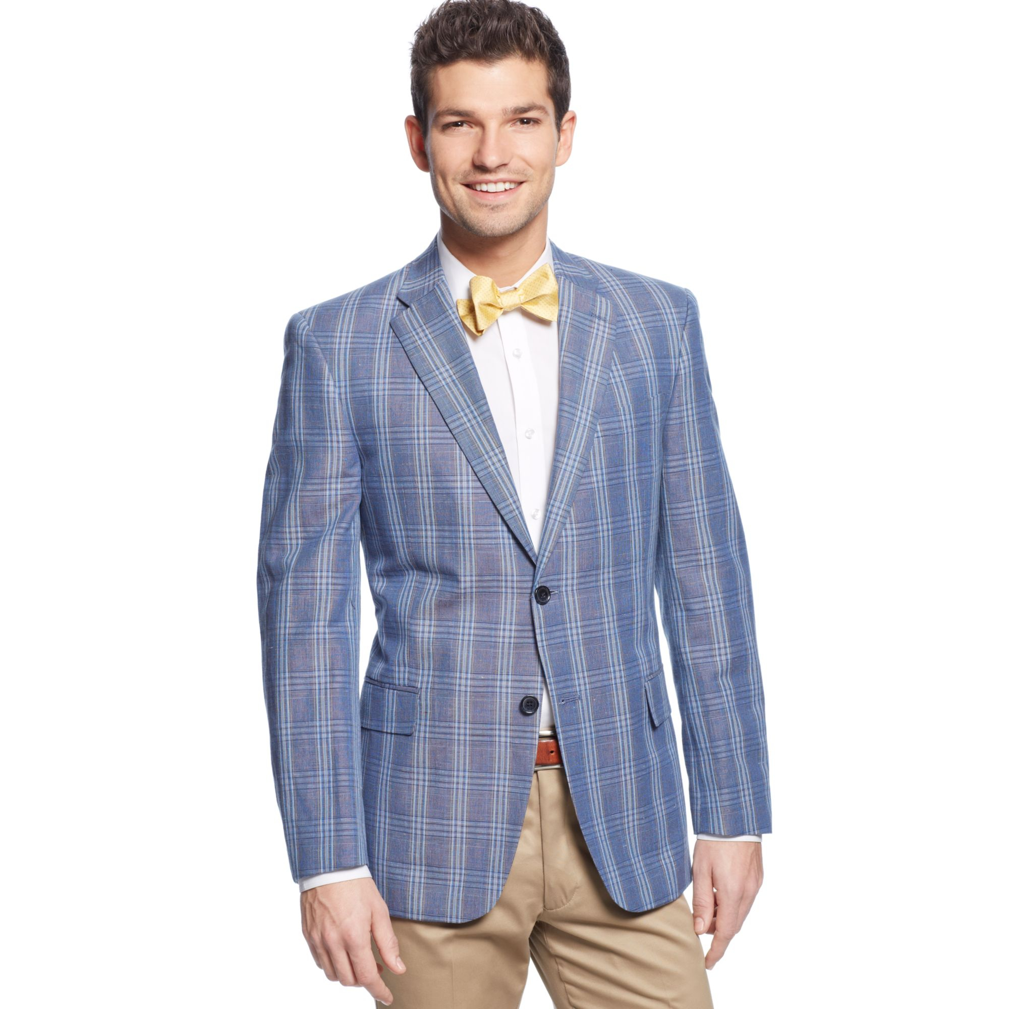 how to wear plaid sport coat
