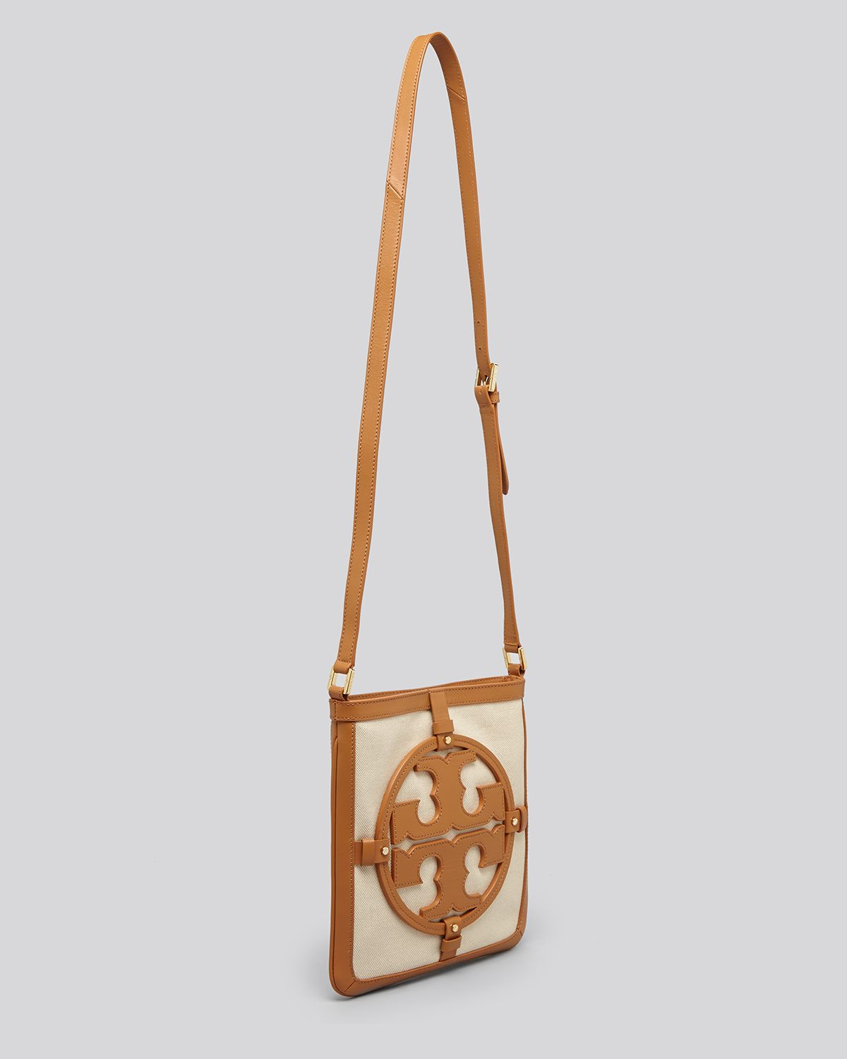 5a7129a3b7 Lyst - Tory Burch Crossbody Holly Book Bag Messenger in White