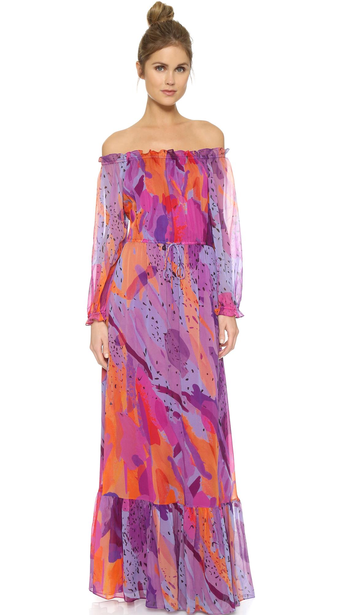 Diane Von Furstenberg Woman Printed Silk-jersey Wrap Dress Multicolor Size 12 Diane Von F NFoAxIii