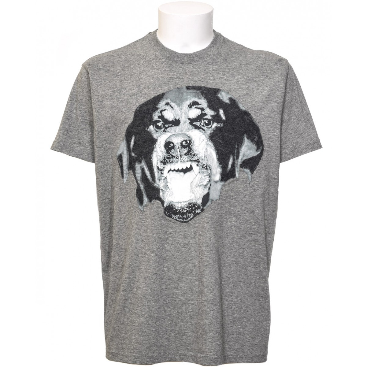 Givenchy Rotweiler T Shirt In Gray For Men Lyst