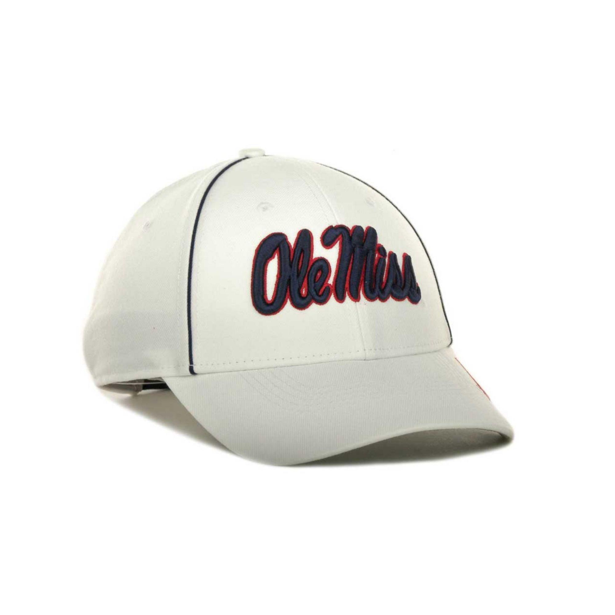 los angeles store designer fashion Nike Mississippi Rebels Sideline Legacy 91 Cap in White for Men - Lyst