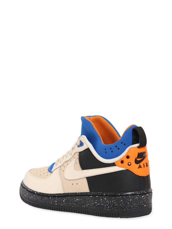7e64c4830999ae Lyst - Nike Air Force 1 Cmft Mowabb Sneakers in Natural for Men
