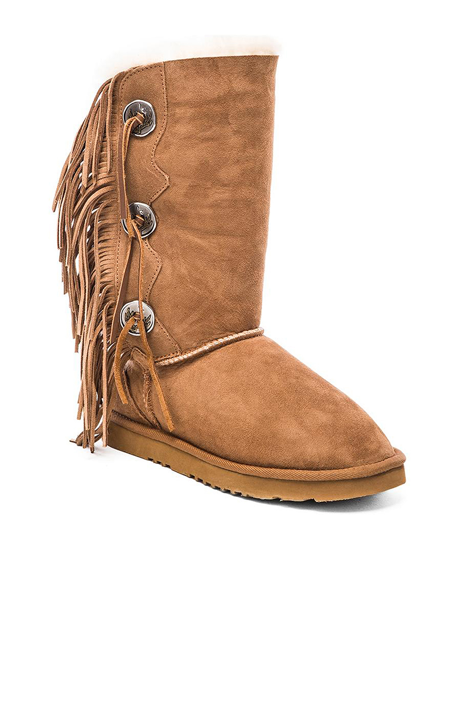Lyst Koolaburra Trishka Tall Fringe Boot In Brown