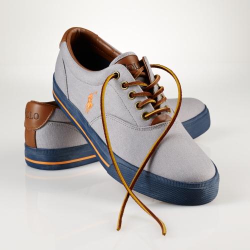 Polo Ralph Lauren Vaughn Canvas Sneaker in Blue for Men