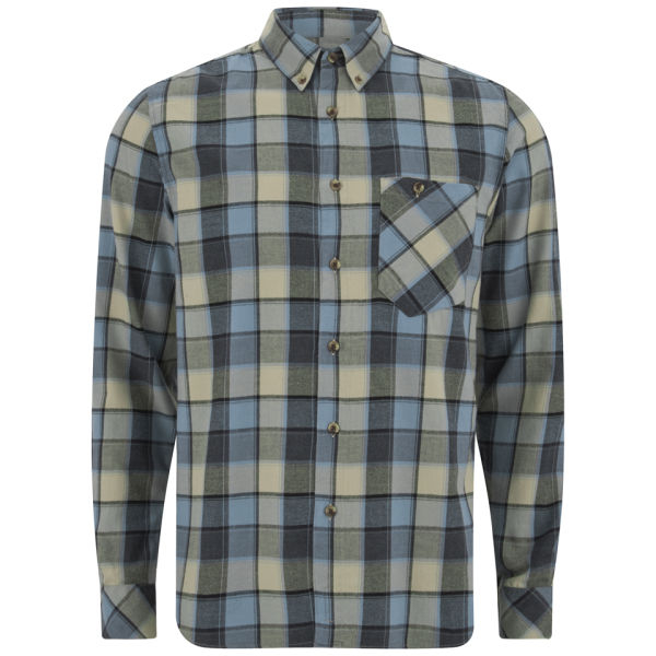 Nudie Jeans Men 39 S Stanley Light Flannel Checked Shirt In