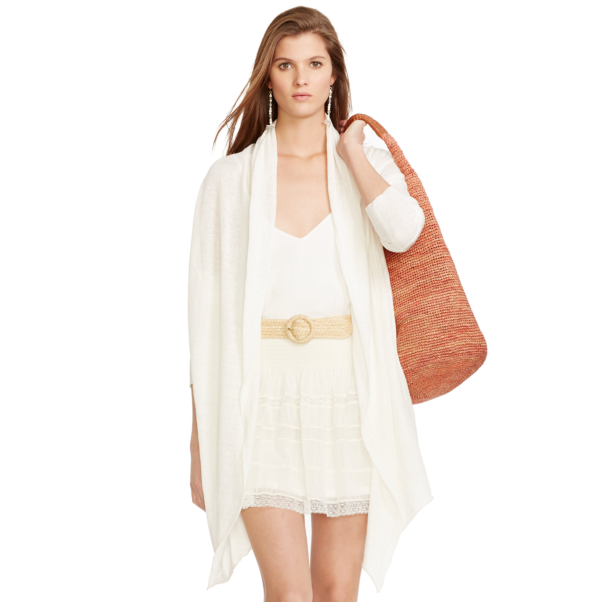 to front draped drapes zoom en open cyra hover e cardigan