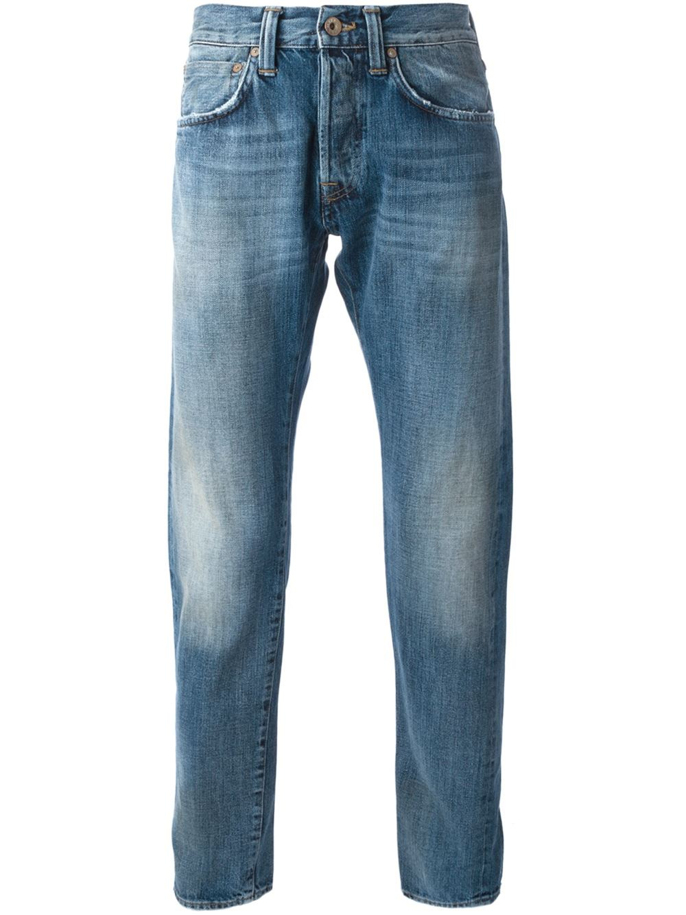 Edwin Tapered Jeans in Blue for Men | Lyst