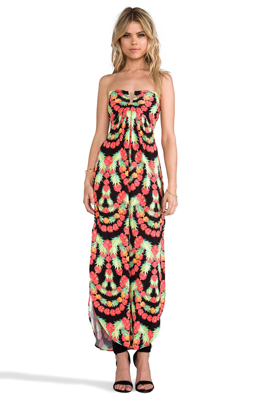2a0f7ae5fb6 Lyst - Mara Hoffman Modal Vwire Maxi Dress in Coral in Black