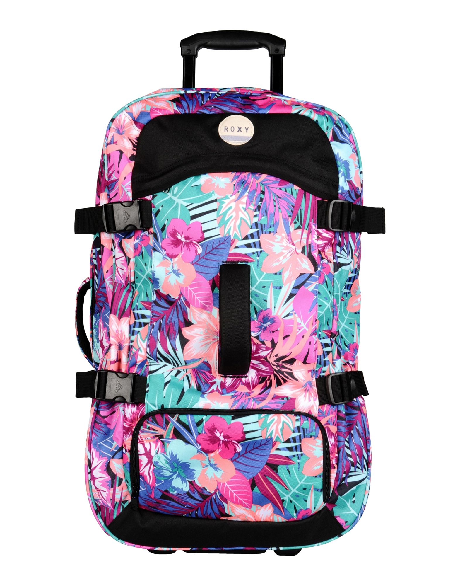Waterproof Duffle Bags >> Lyst - Roxy Wheeled Luggage in Pink