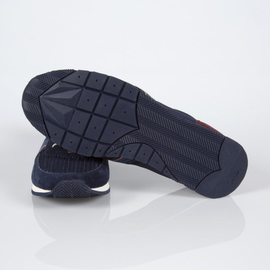 Nike Blue Leather Woven Split Toe Shoes