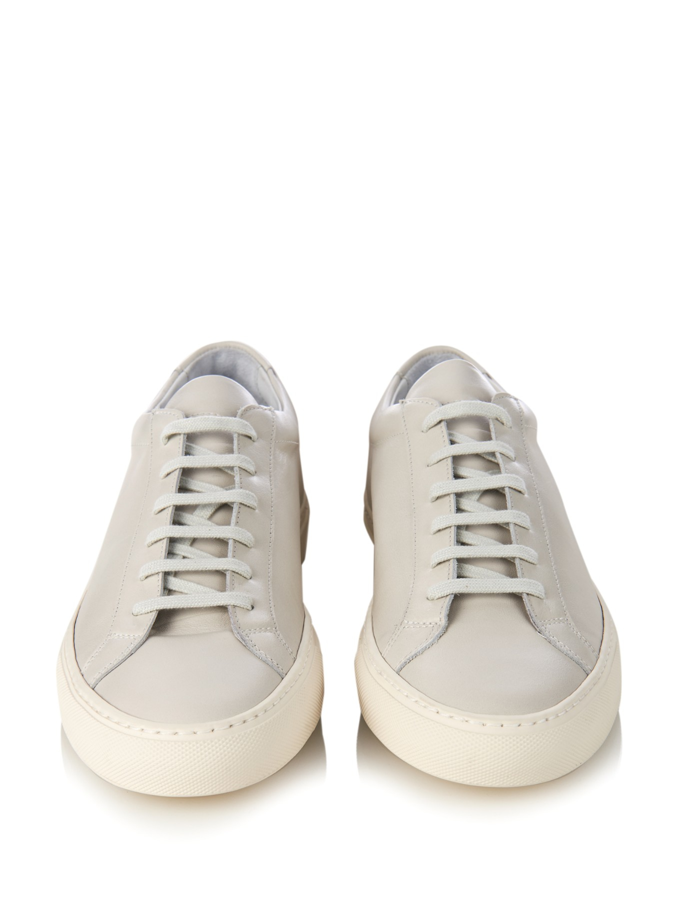 common projects achilles low top trainers in white for men lyst. Black Bedroom Furniture Sets. Home Design Ideas