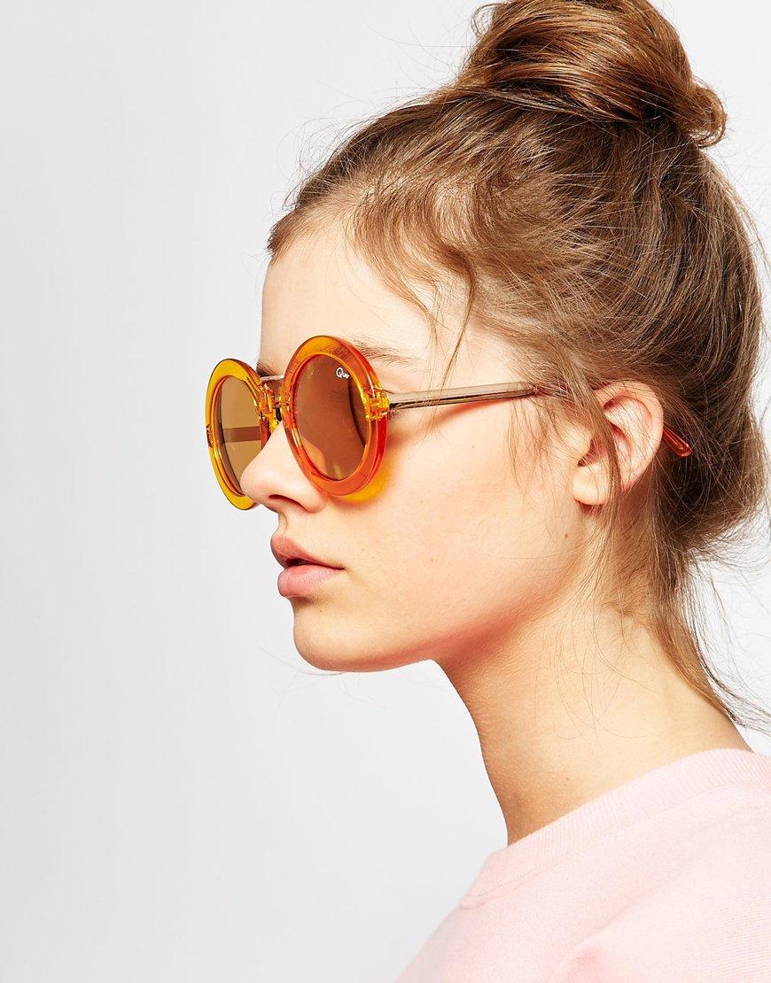 81be70f168 Lyst - Quay Quay Life In Xanadu Sunglasses in Yellow