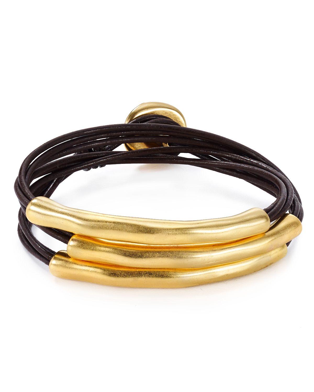 Uno De 50 Not To Be Bracelet In Gold