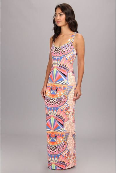 Mara Hoffman Fitted Tank Maxi Dress in Multicolor (Mufasa ...