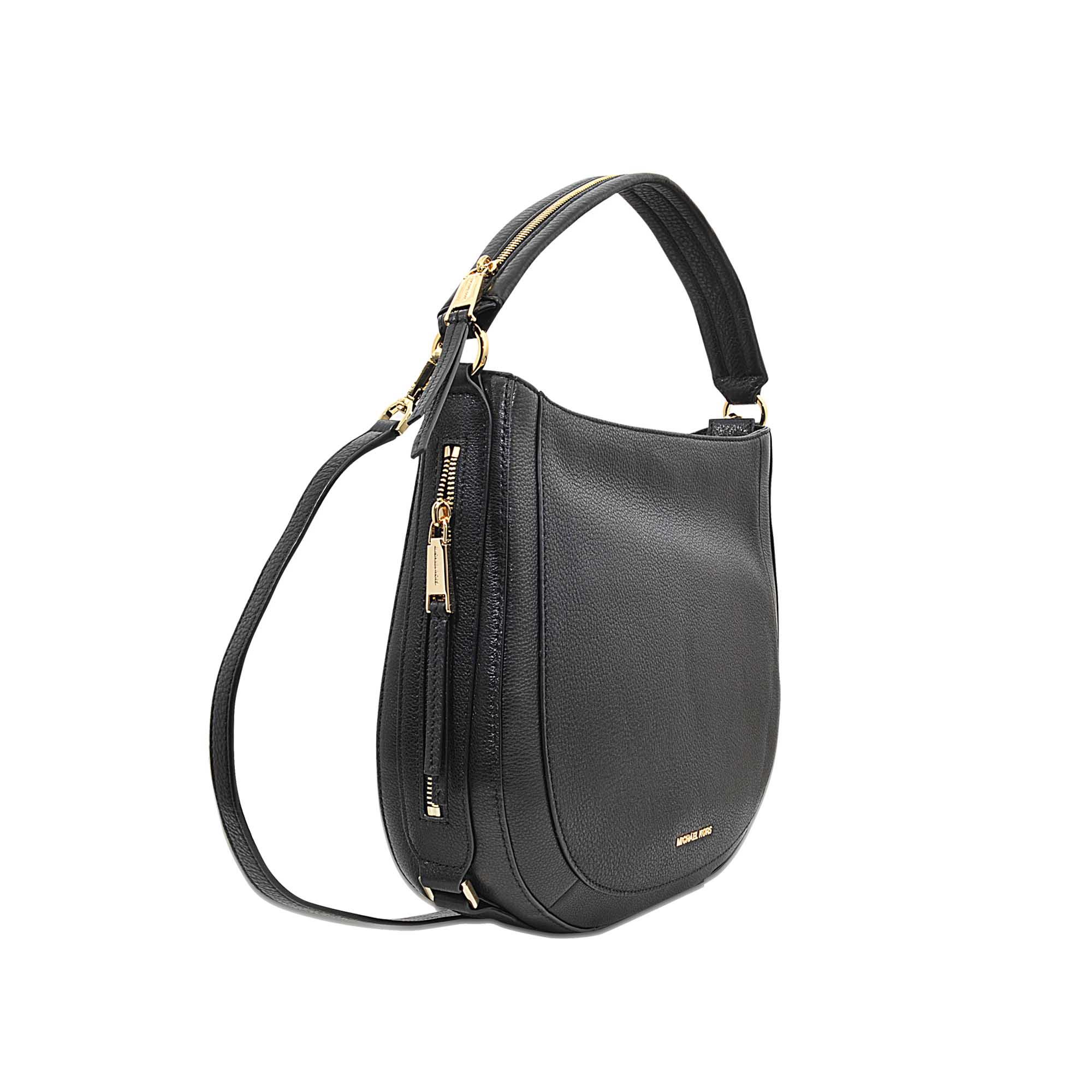 7a192633c6be Lyst - MICHAEL Michael Kors Julia Medium Congreenible Shoulder Bag ...