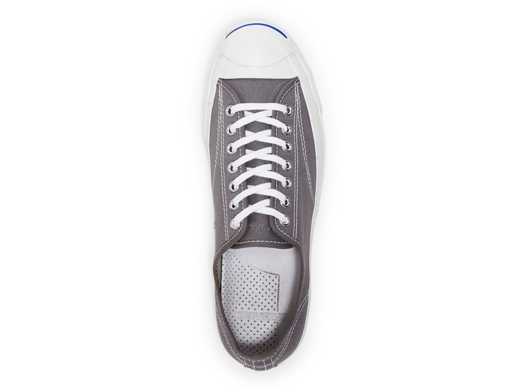 7f97cb7f45c3 Lyst - Converse Jack Purcell Signature Canvas Sneakers in Gray for Men