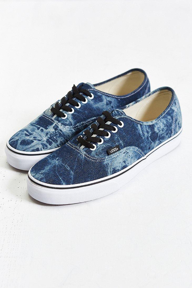 Vans Authentic Acid Wash Sneaker in