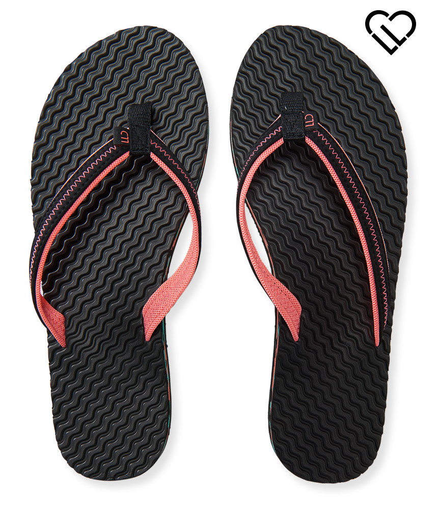 Love These Floors From Flip Or Flop: Live Love Dream Lld Molded Flip-flop In Black