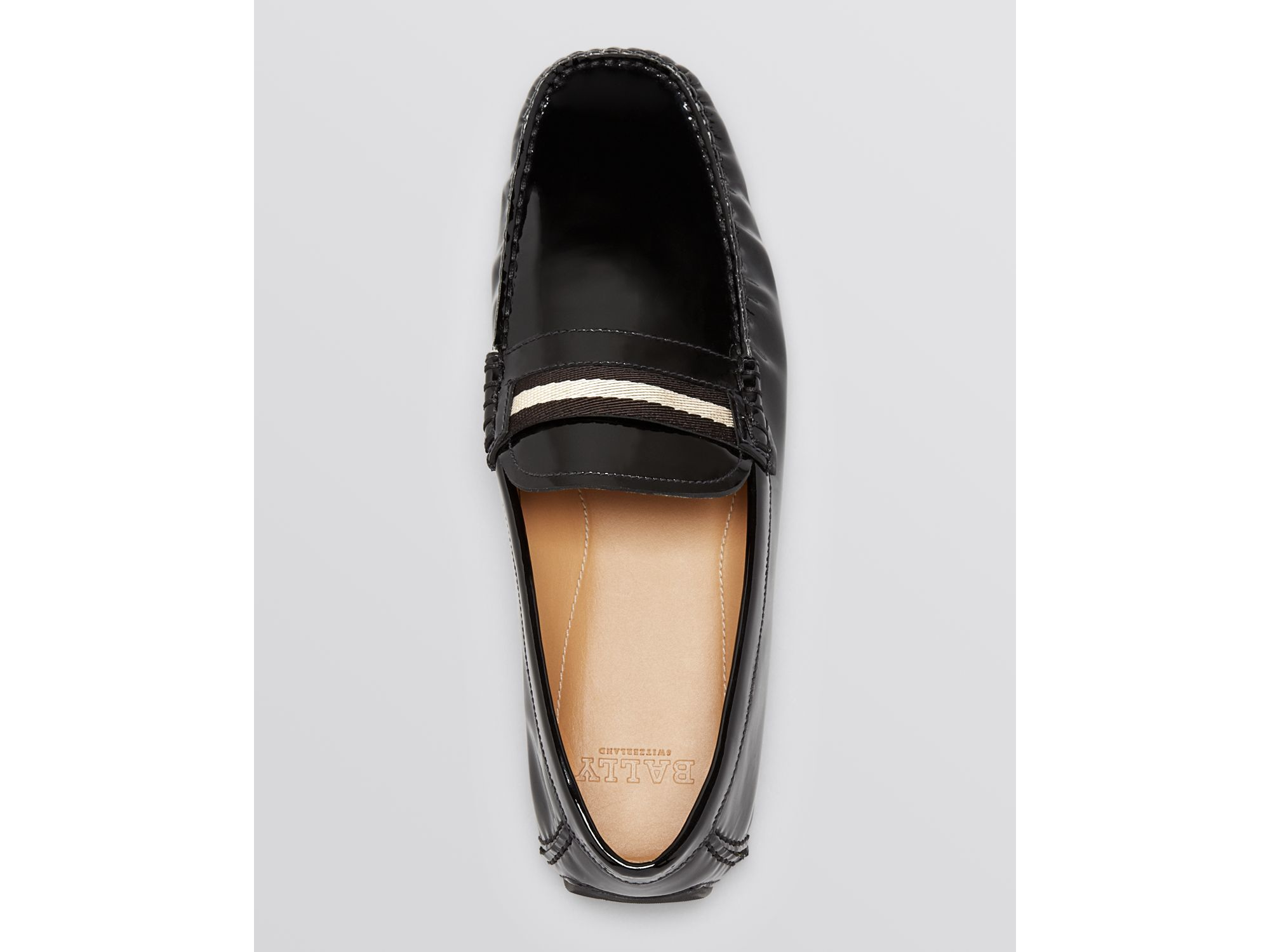 Bally Wabler Patent Leather Driving