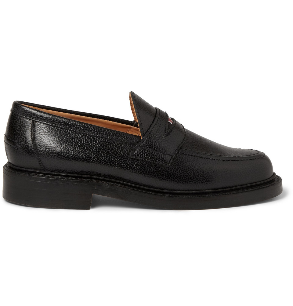Thom Browne Black Penny Loafers qz3IE