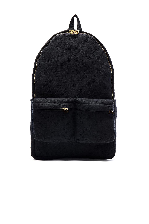 off white c o virgil abloh tapestry backpack in black for. Black Bedroom Furniture Sets. Home Design Ideas