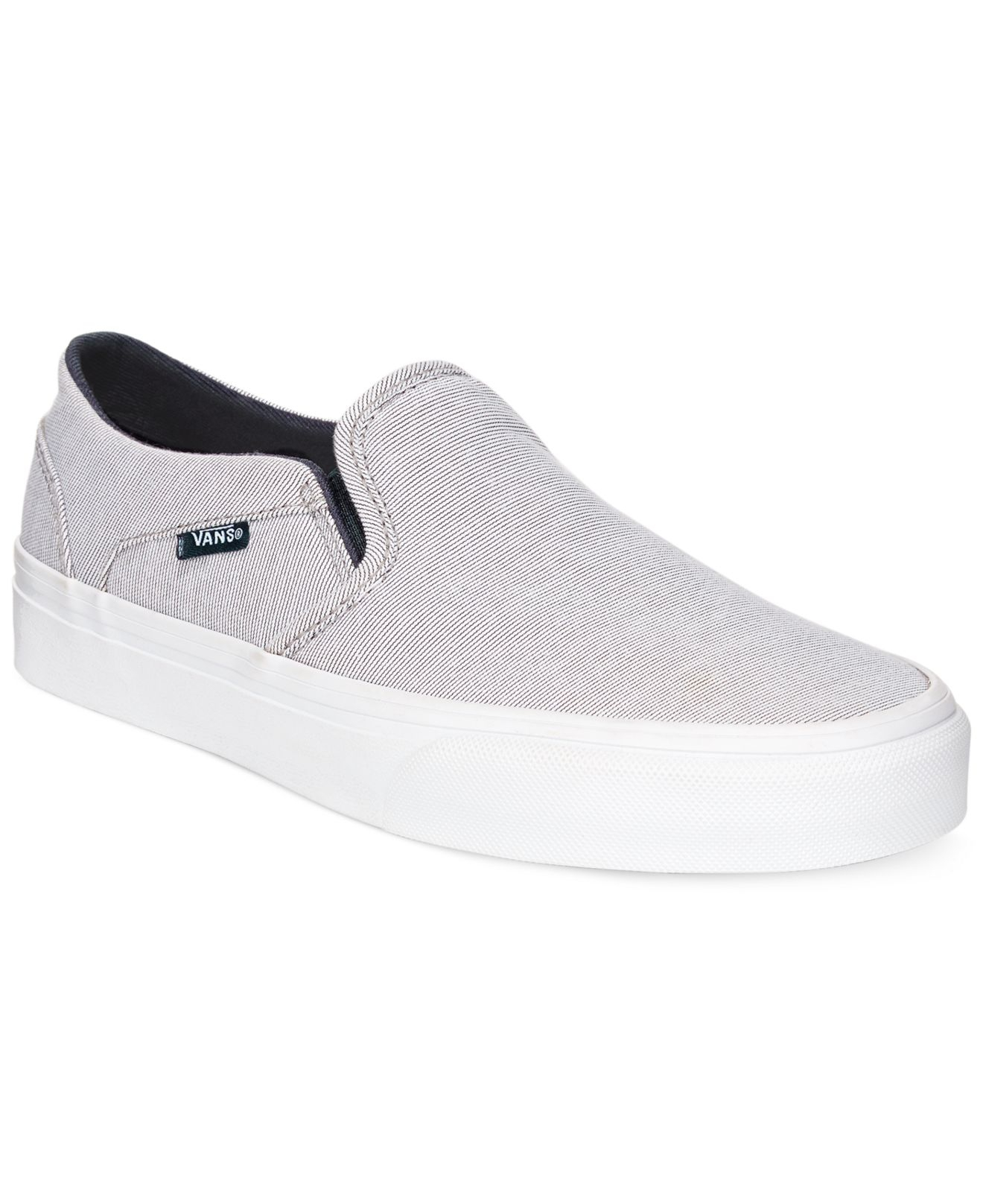 vans womens classic slip-on sneakers