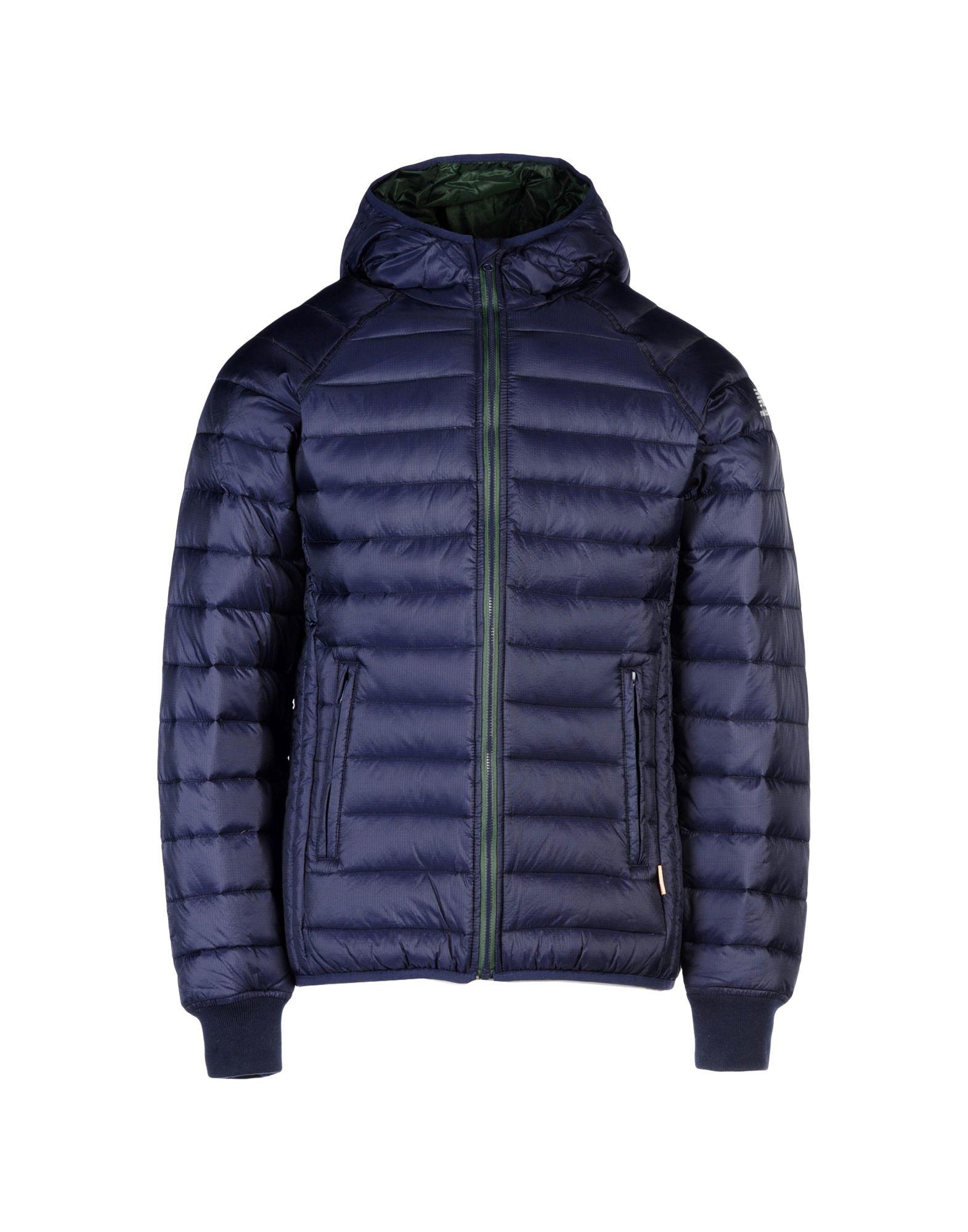 new balance down jacket in blue for men lyst. Black Bedroom Furniture Sets. Home Design Ideas