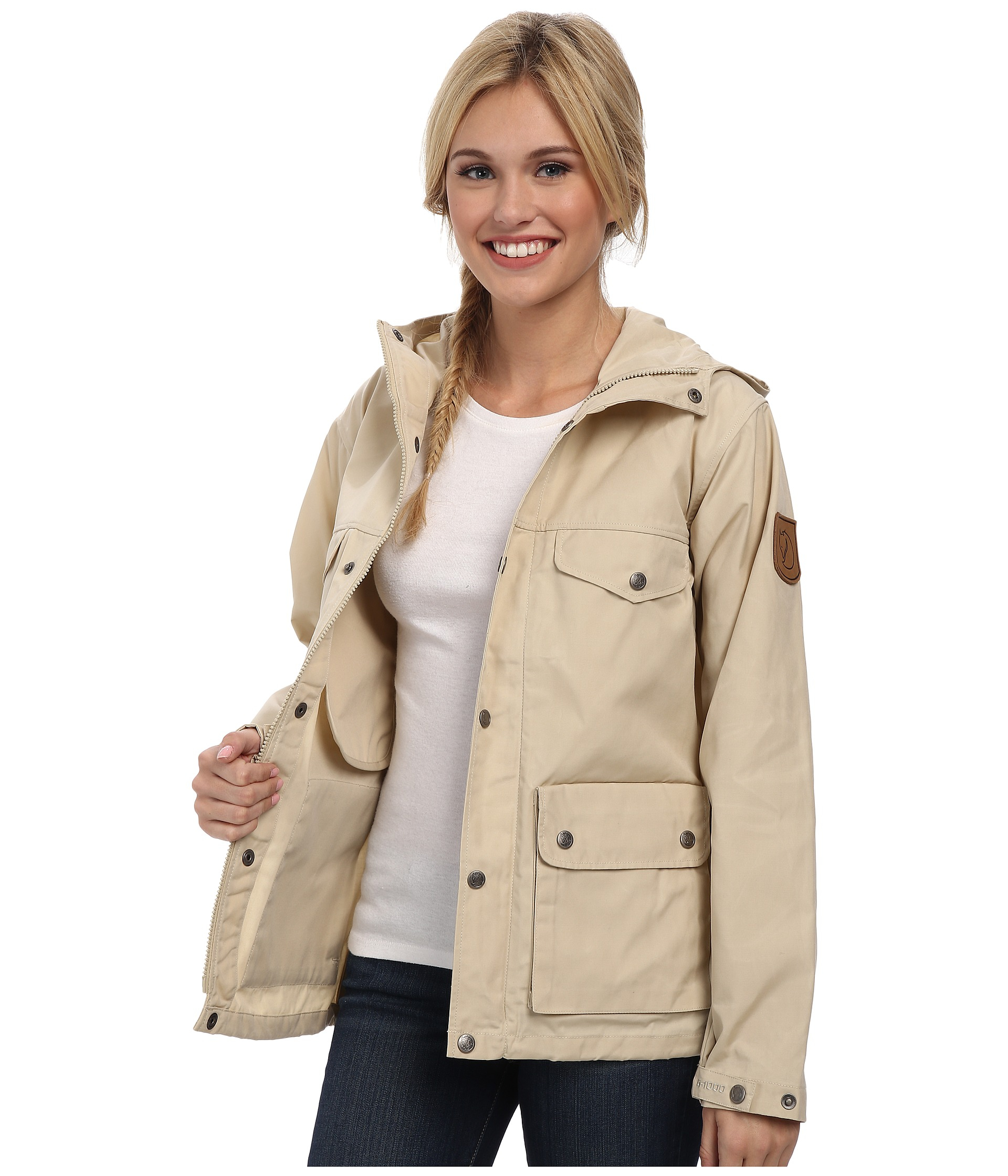 finest selection 5ca2f 0eb0f Fjallraven Greenland Jacket in Light Beige (Natural) - Lyst