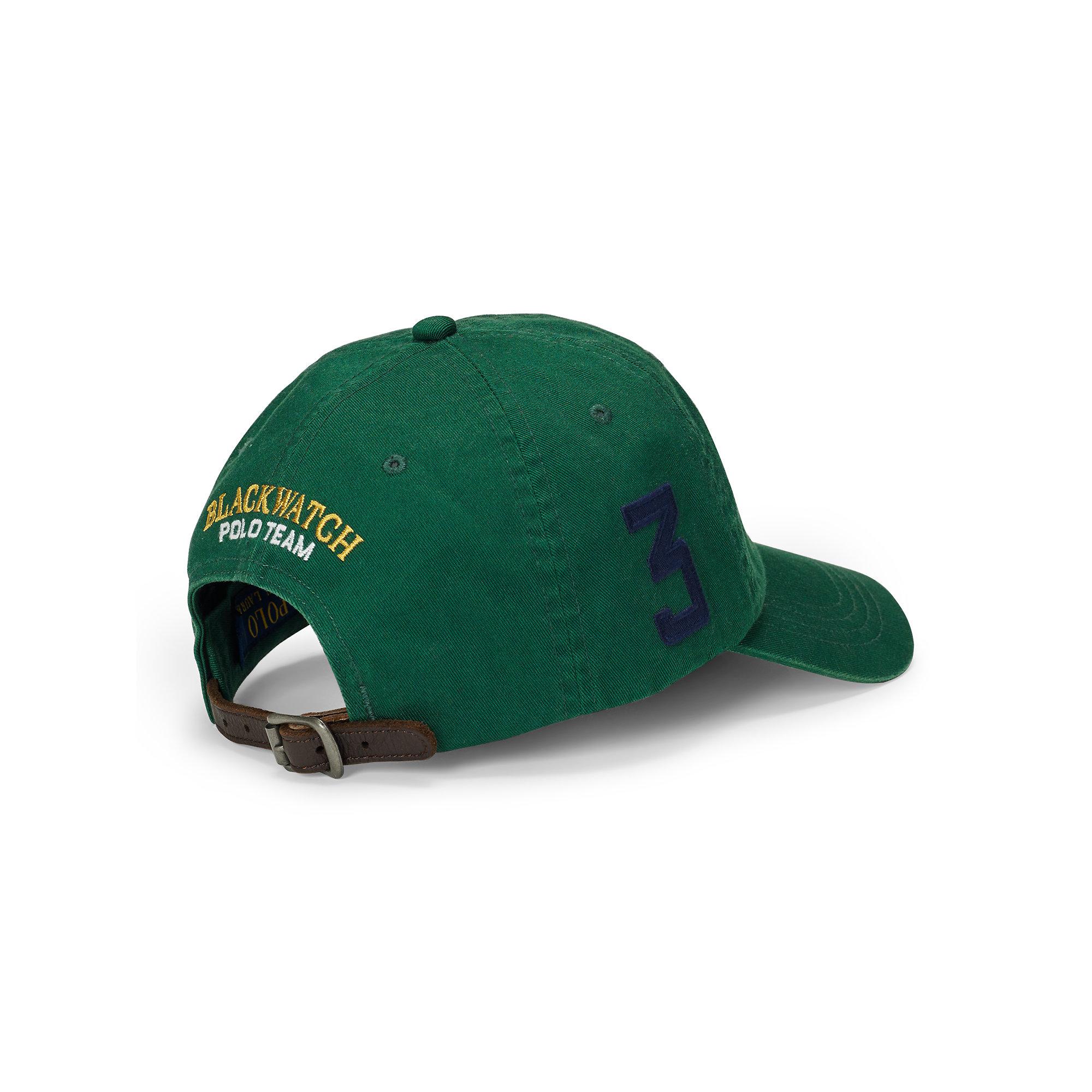 Cap Green Polo Baseball Ralph Lauren 1TKlJcF3