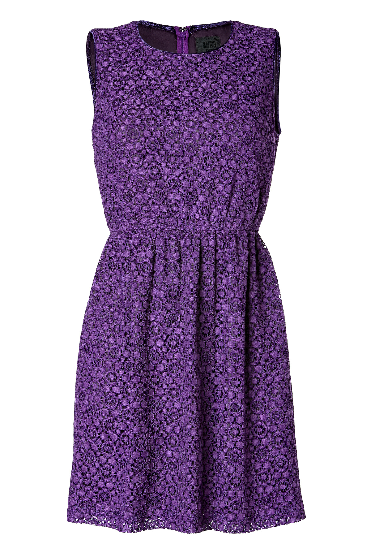 Anna Sui Fashion Purple Black