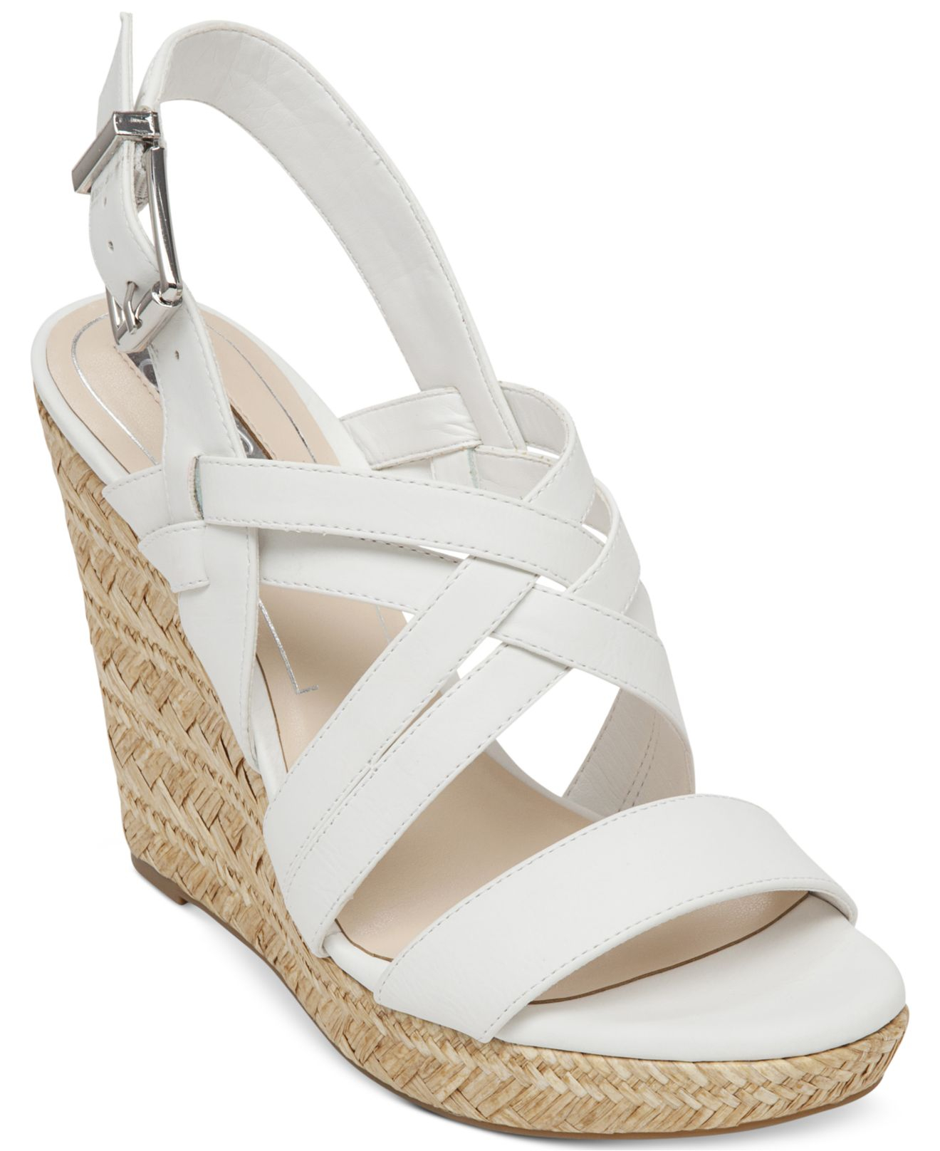 df232d3b02c Gallery. Previously sold at  Macy s · Women s White Platform Wedges ...