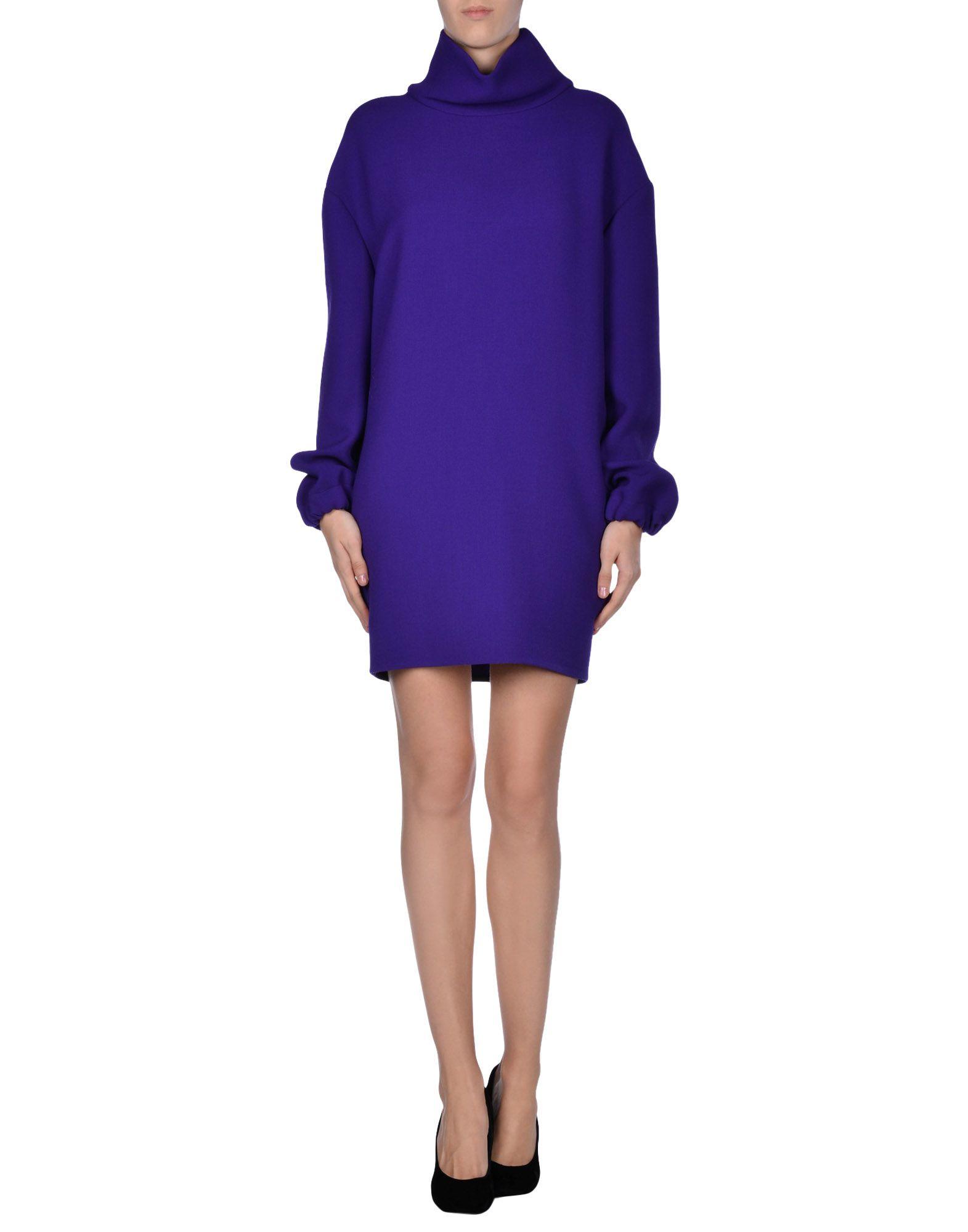 Gallery  sc 1 st  Lyst & Lyst - Costume National Short Dress in Purple