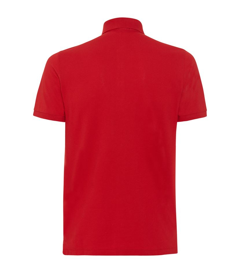 Burberry Brit Guardsman Pin Polo Shirt In Red For Men Lyst