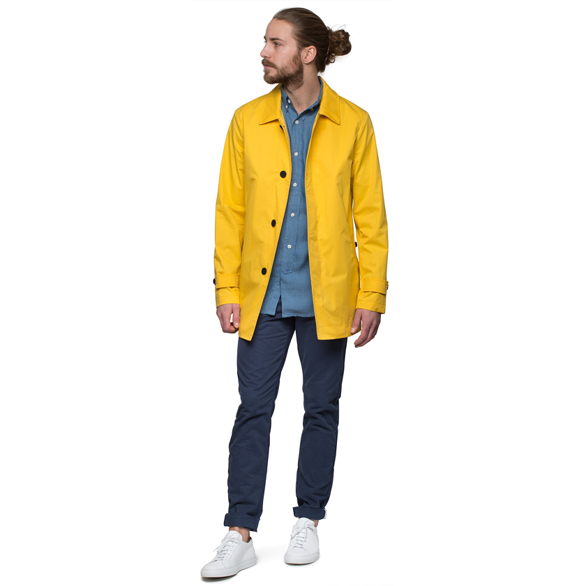 Camplin Yellow Rain Coat in Yellow for Men | Lyst