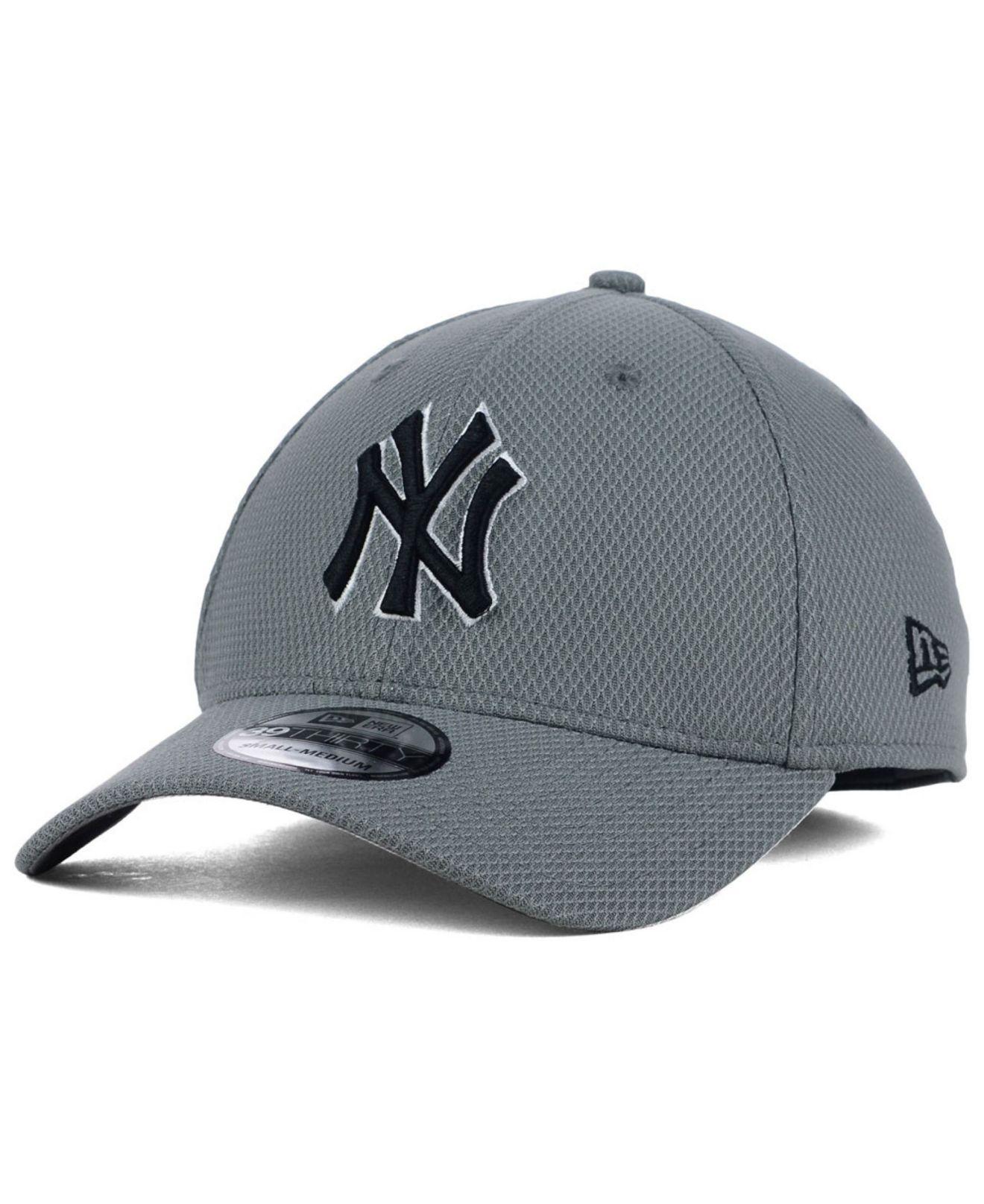 a2d0b015bec Lyst - KTZ New York Yankees Diamond Era Gray Black White 39thirty ...