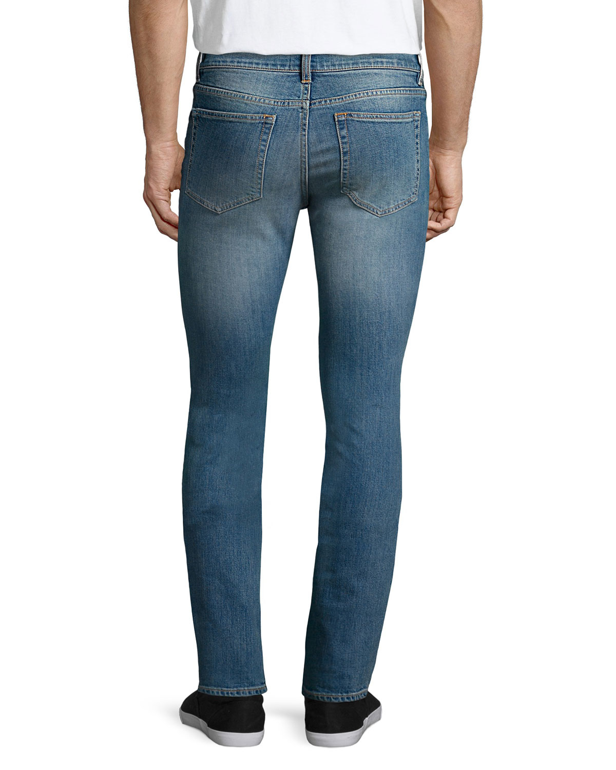 acne studios ace carter skinny denim jeans in blue for men lyst. Black Bedroom Furniture Sets. Home Design Ideas