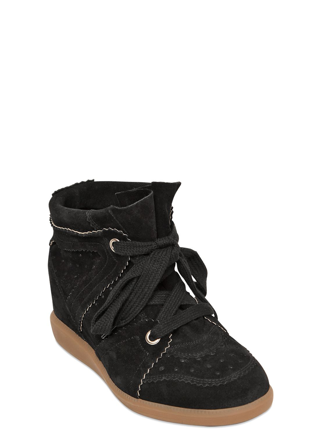 876c9fc05de6 Gallery. Previously sold at  LUISA VIA ROMA · Women s Wedge Sneakers  Women s Isabel Marant Bobby ...