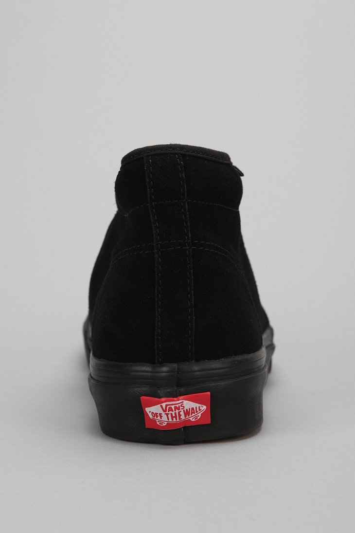 b3e55d5fb3 Lyst - Vans Suede Chukka Boot in Black for Men